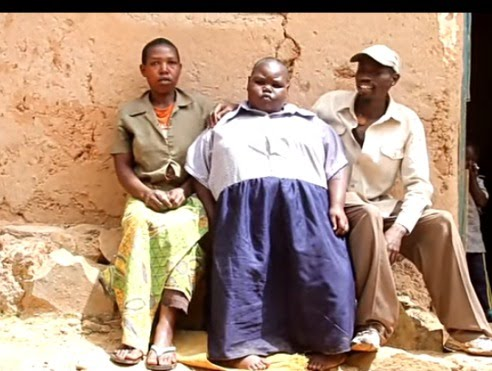 """""""My Daughter Is Overweight And She Is Just Ten Years See How I Carry Her To School:Father Narrates"""